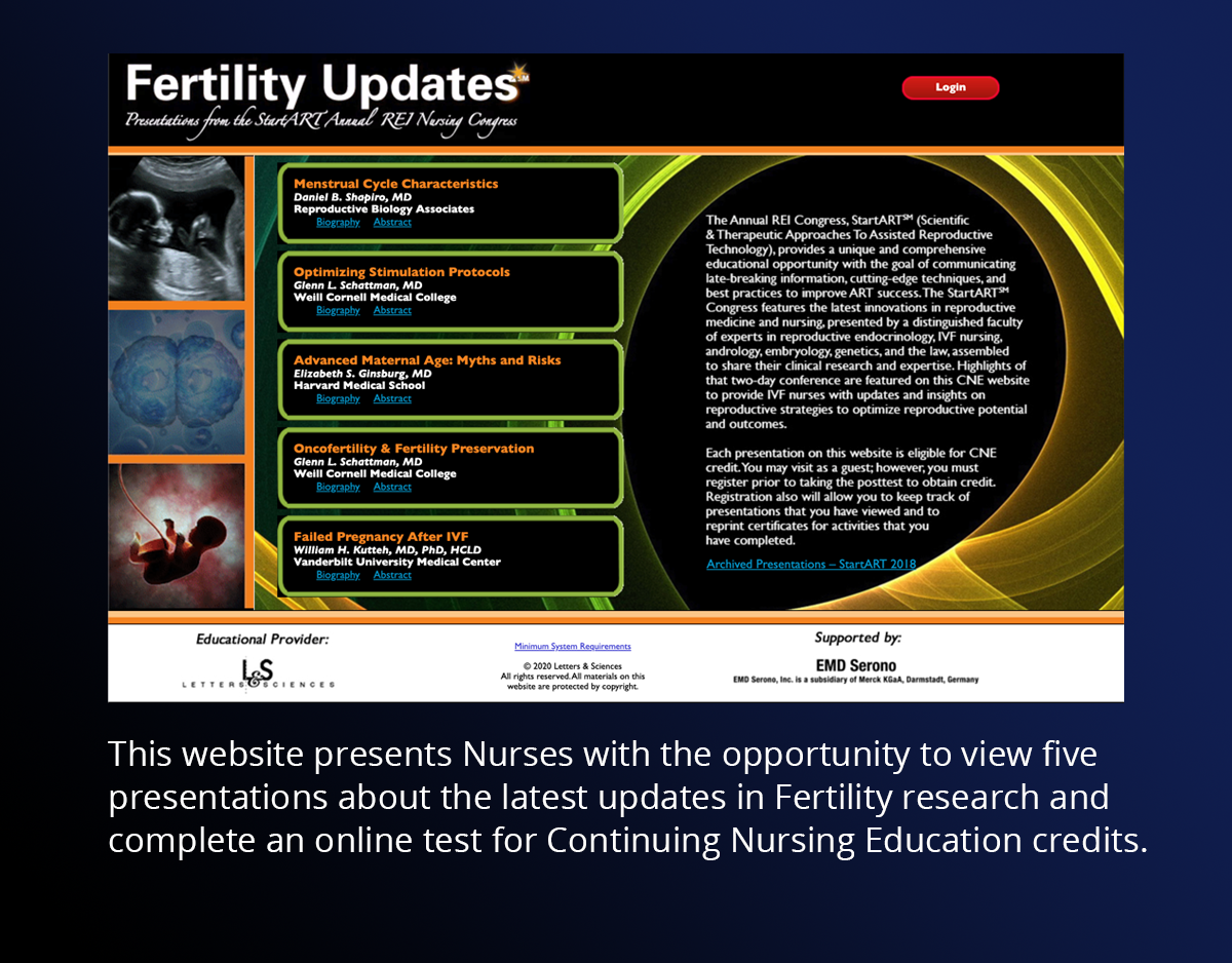 Fertility Updates Home Page